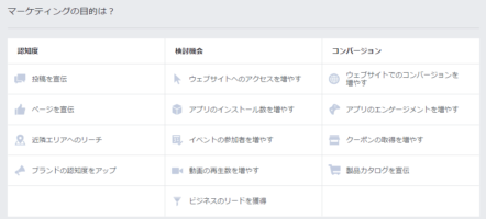 Facebookの目的